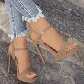 Las Sandalias Desnudas De Alto Mujeres Zap Zapatos Tacón tohCxBsrdQ