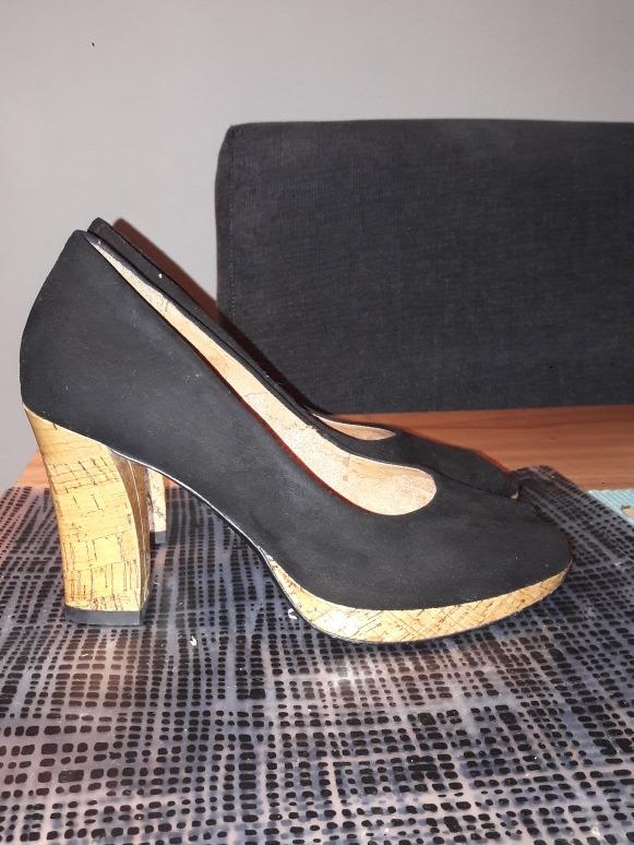 Madera Negros En Mujer Y Clark 00 Tacón 35 De Zapatos 5400 sCxodhQtrB