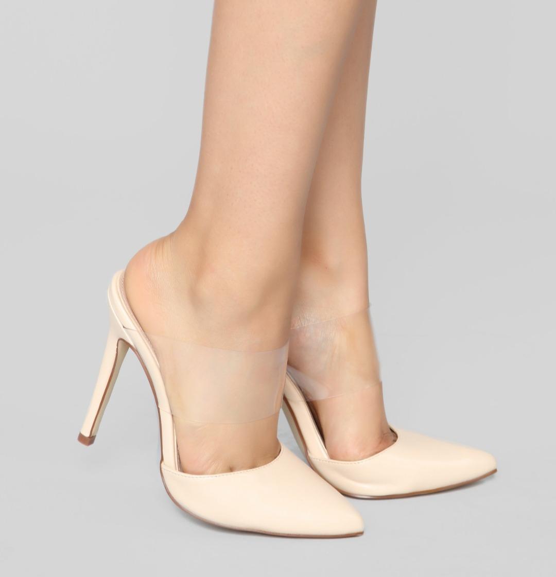 f1b718a2 Zapatos De Tacón Color Nude - $ 220.000 en Mercado Libre