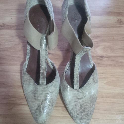 zapatos de tacón dama un solo uso