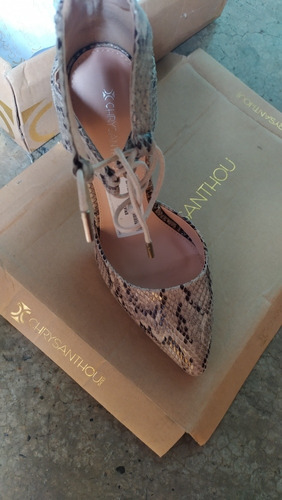 zapatos de tacón de dama, talla 38, nuevos