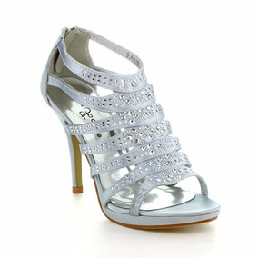 Plateados Importados8 Zapatos De 12 Tacon ym0vON8nw