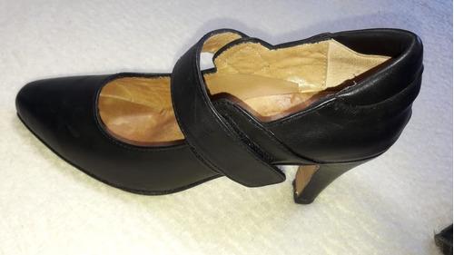zapatos de tango / baile100 % cuero 1 uso igual a nuevos