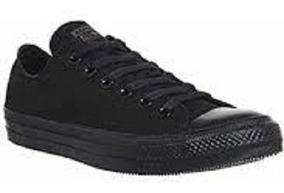 zapatos converse negro