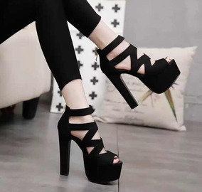 8b8456a9 Tacones De 15 Cm - Zapatos de Mujer en Mercado Libre México