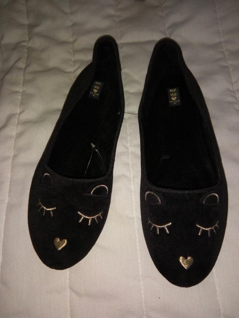 9d32a6f8a0 Zapatos De Terciopelo Oso Kawaii Flats De Piso Lolita -   550.00 en ...