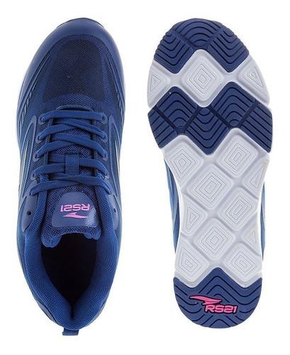zapatos de training azul rs21 biome 2.0
