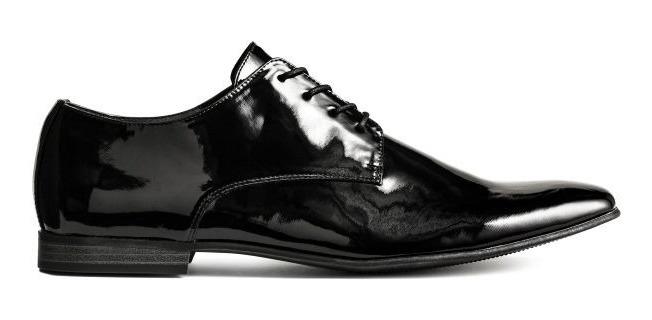 precio competitivo 31b76 7135a Zapatos De Vestir Acharolados, H&m, Elegante, Comodo, Usa