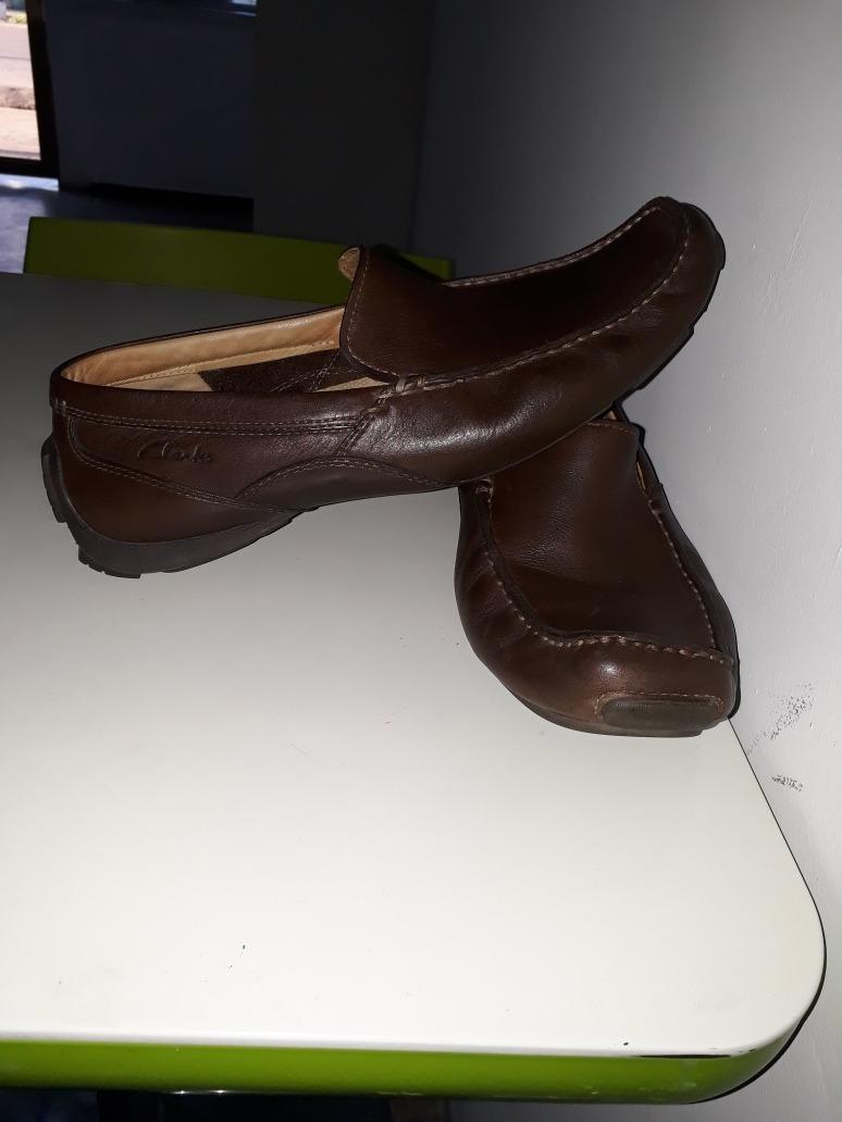 Zapatos De Vestir Clark De Cueros Originales Talla 8.5