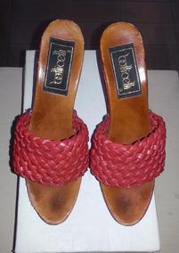 Zapatos De Botticelli Elegantes Uso Vestir Poco Rojos Muy 2DEY9IWH