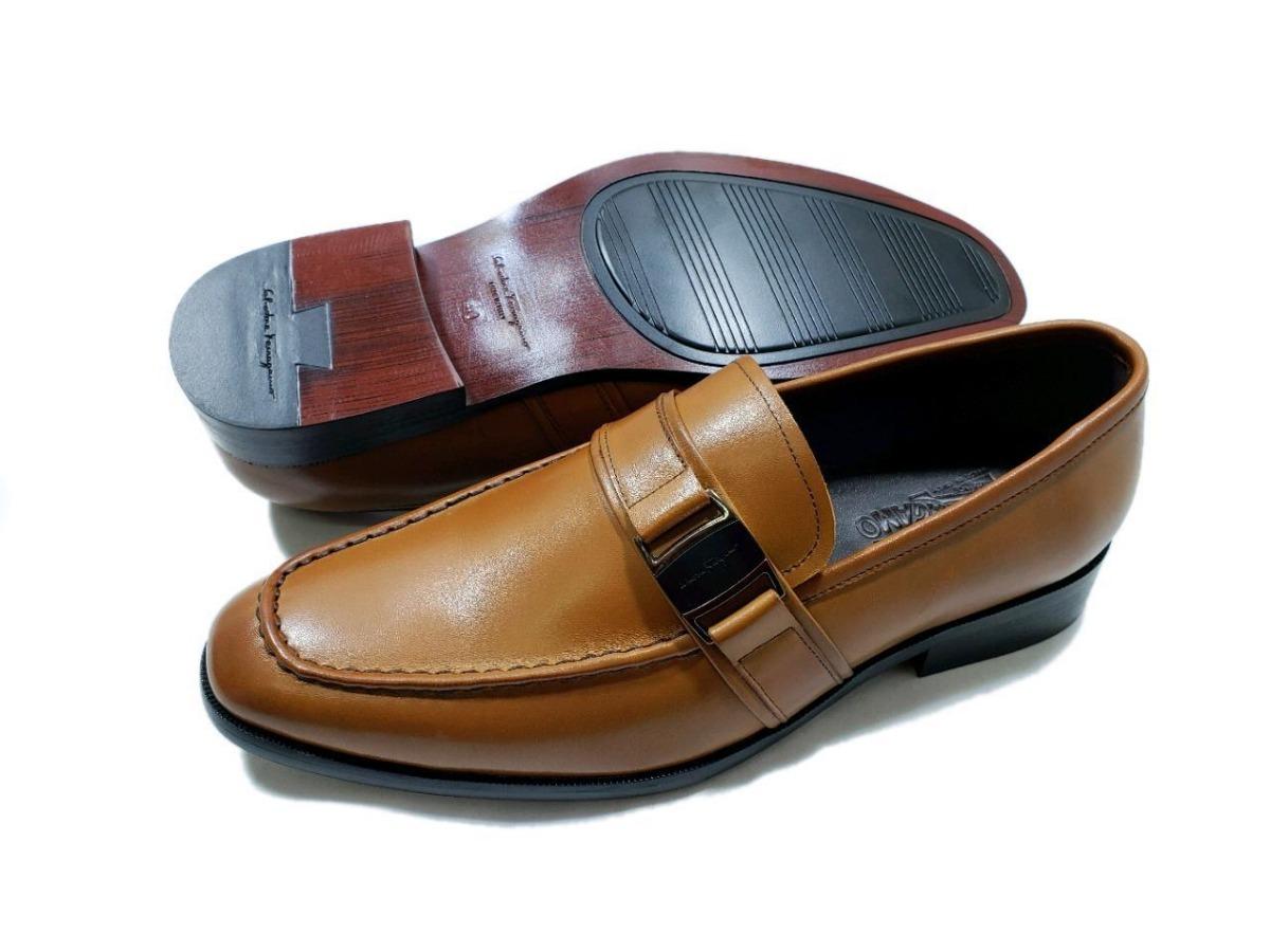 zapatos de vestir ferragamo caballero de piel color miel! Cargando zoom. 58fde52dc6f9