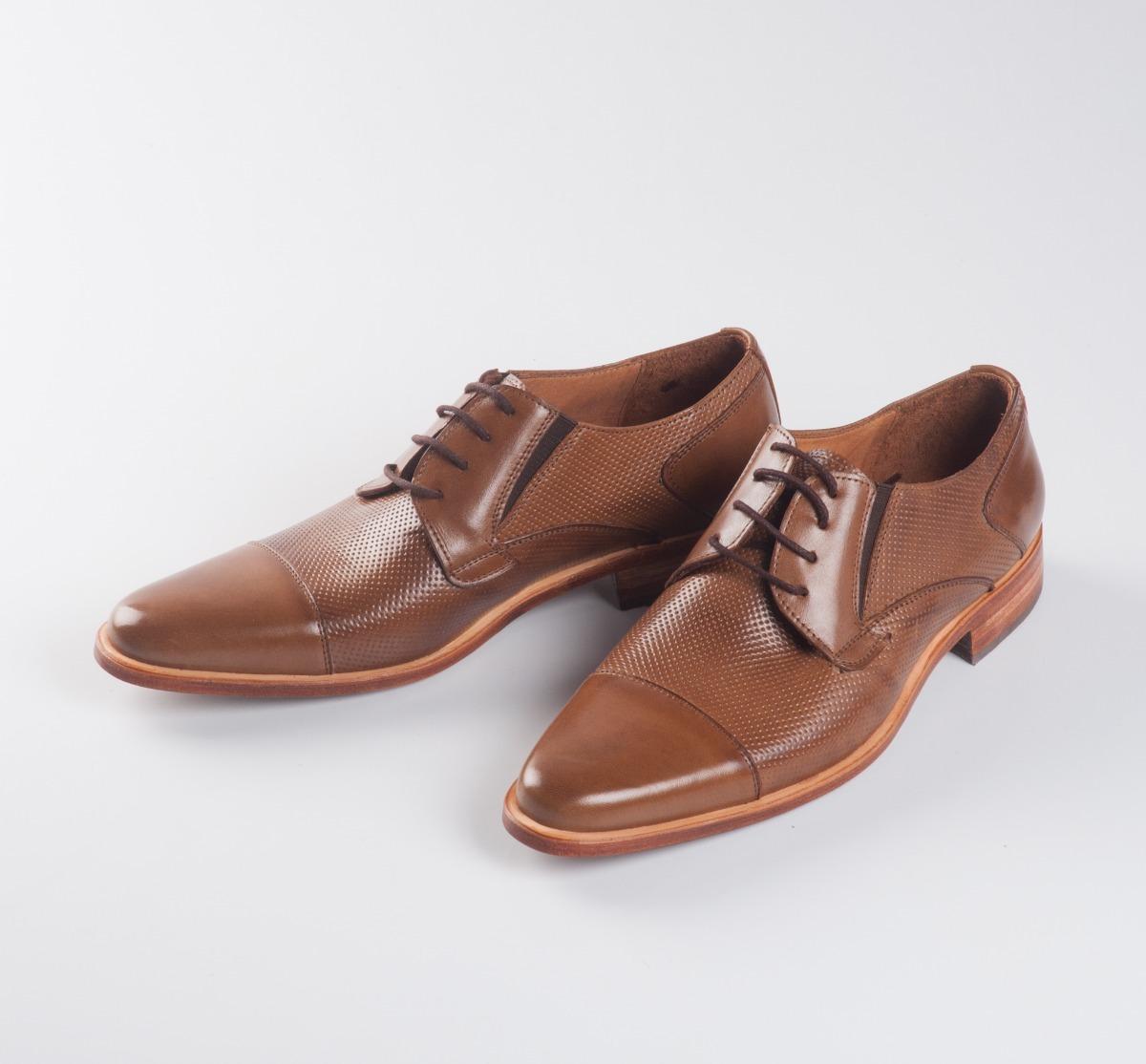 9ebf0a96 Zapatos De Vestir Hombre Cuero Marron - $ 3.675,00 en Mercado Libre