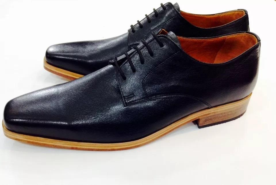 f18f8df1 Zapatos De Vestir Hombre Cuero Suela Color Madera - $ 2.190,00 en ...