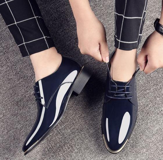 7c21c485ed Zapatos De Vestir Hombre - Moda Italiana   Zapatos Elegantes - S ...