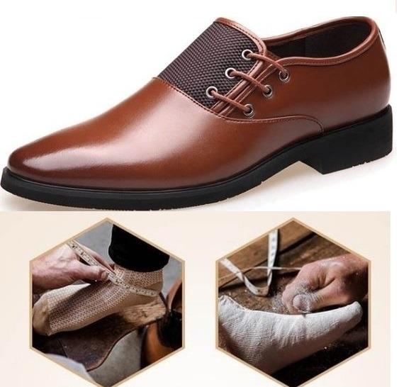 Elegantes Vestir S Italiana Moda Hombre Zapatos De PxZvaa
