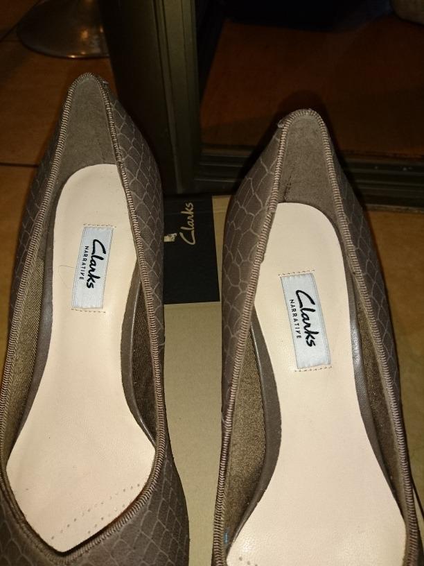 Vestir En Nuevos Zapatos Clarks 39 Caja De Talla Mujer rxdoBWCe