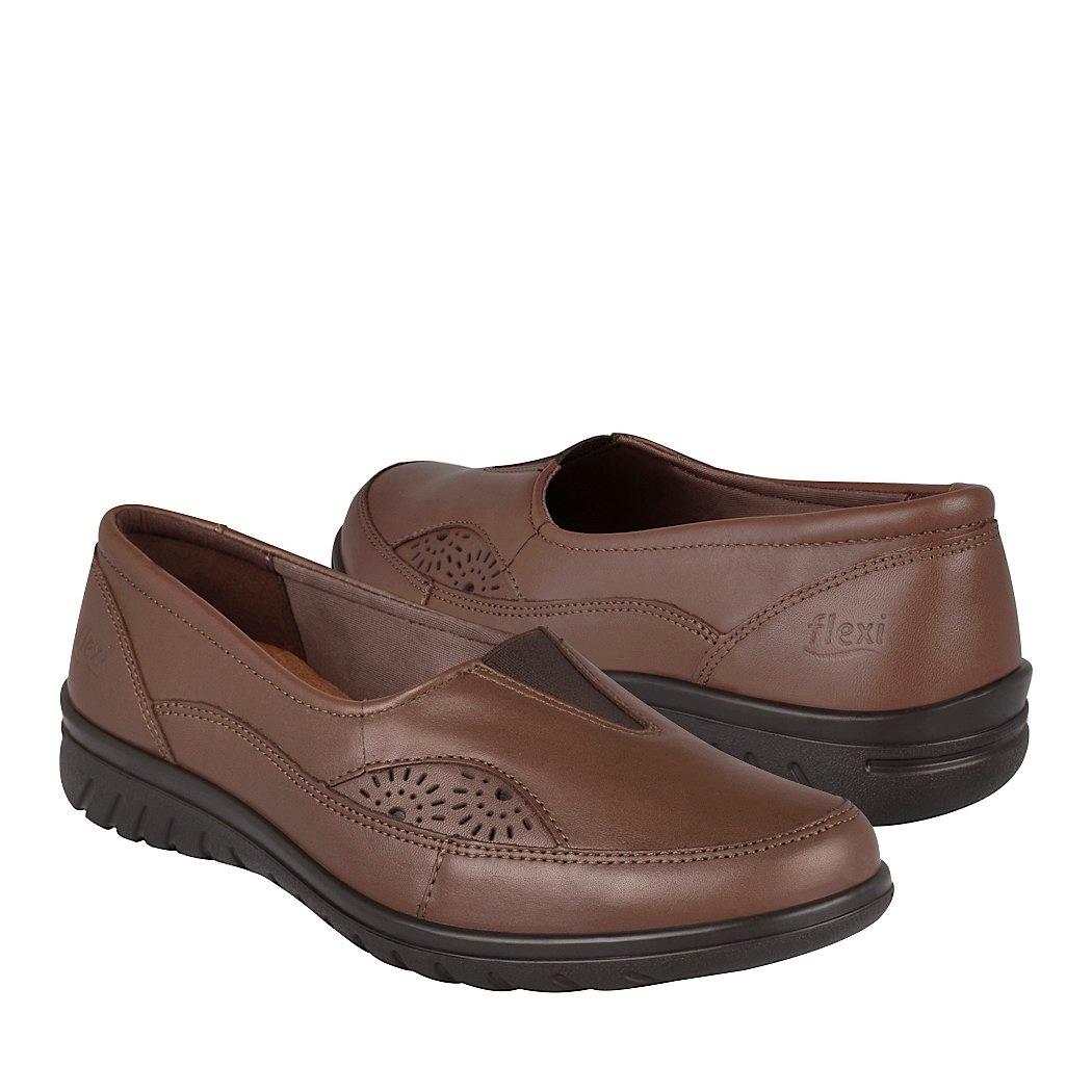 más fotos 6ede3 16ee8 Zapatos De Vestir Para Dama Flexi 35303 Piel Expresso