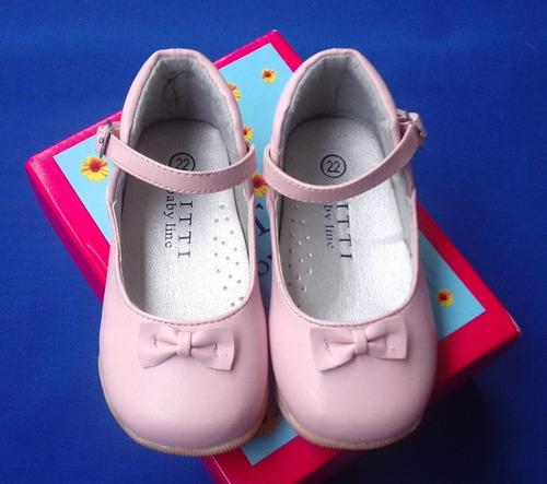 zapatos de vestir rosados de niña talla 22  nuevos!!