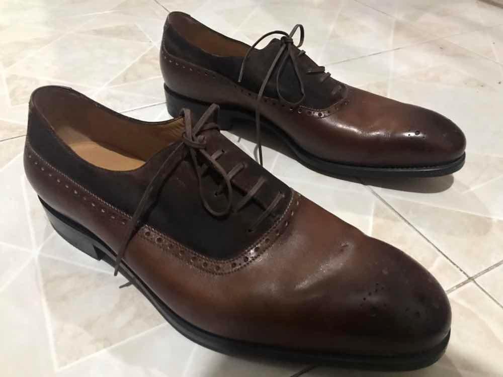 Zapatos De Vestir Salvatore Ferragamo No. 8 Originales 100 ... 385cb1e978ac