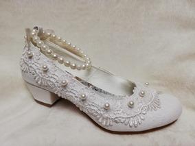 ventas calientes alta calidad en stock Zapatos De Vestir Plateados Para Niñas - Ropa y Accesorios Blanco ...