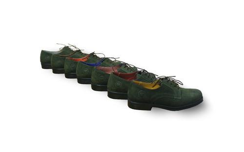 zapatos de vestir verde oscuro (greenlord -twins)liquidación