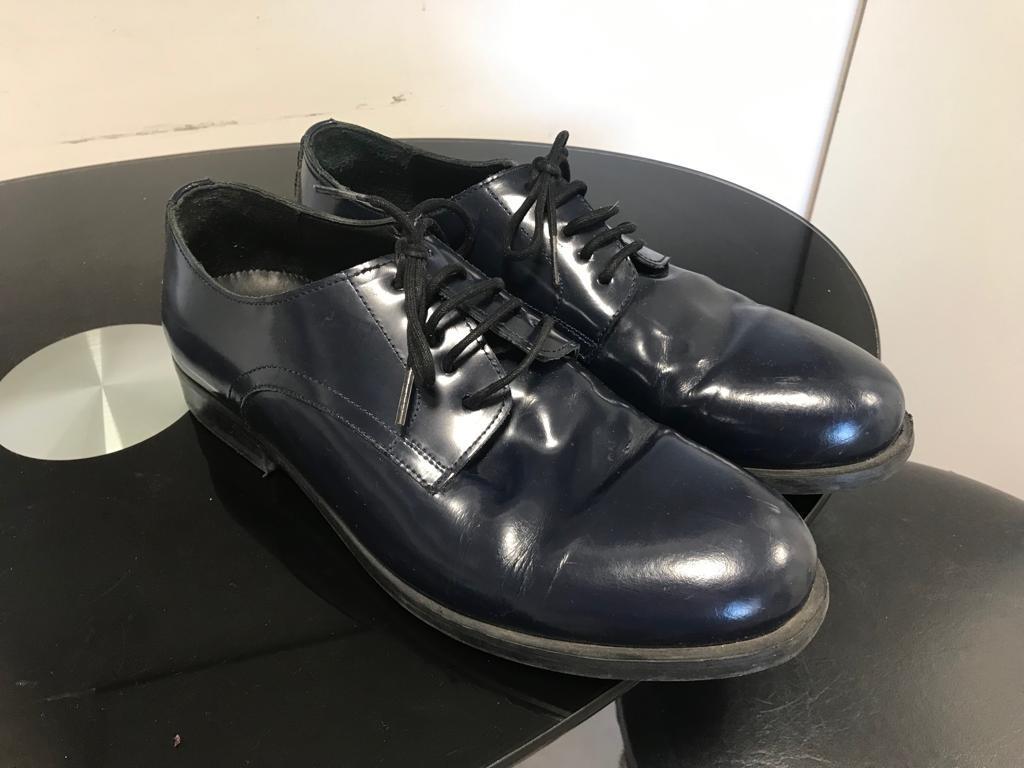 Vestir 1 Azul Marino 00 En Zara De Tipo Charol Zapatos 200 6nwTq50BWx