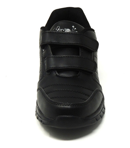 zapatos dep. escolares yoyo 14151v negros 24-31 envío gratis