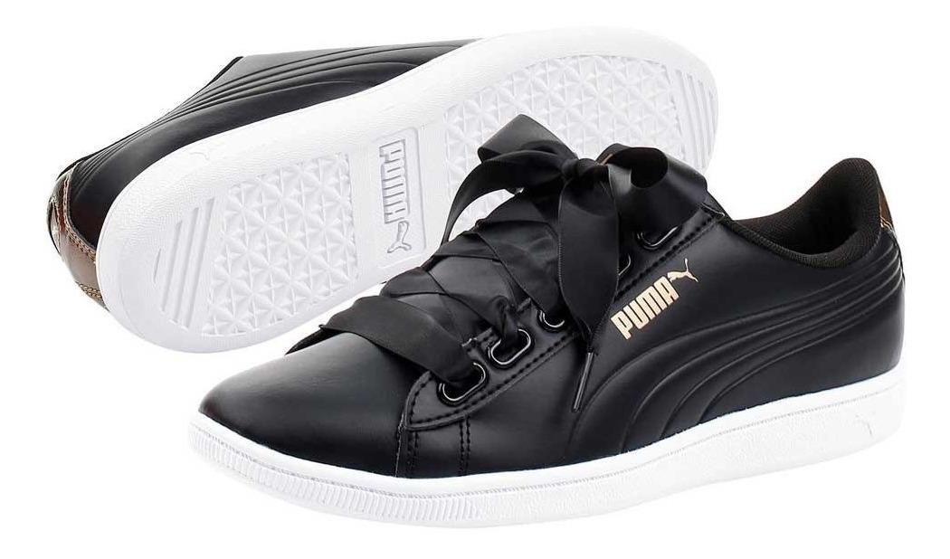 7a2cd88a zapatos deportivo mujer puma vikky ribbon sl metallic ta 40. Cargando zoom.