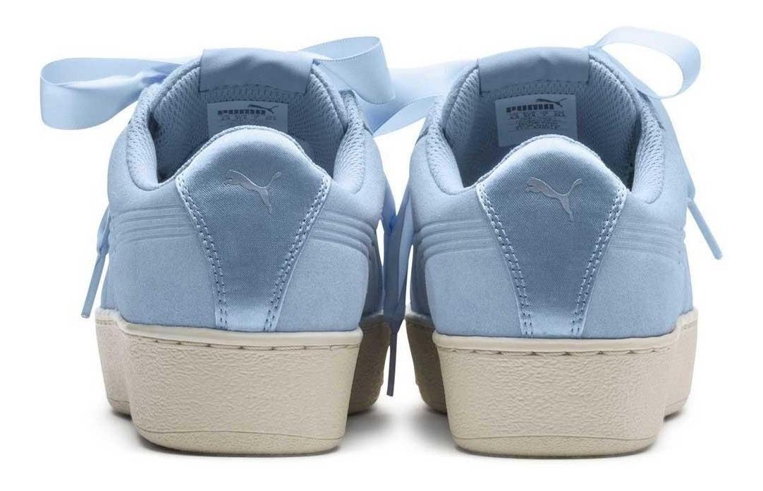 Zapatos Deportivo Puma Vikky Platform Ribbon S Mujer Europa