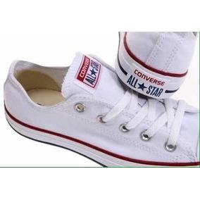6fb21926061b8d Zapatos Converse Blancas All-star Chuck Taylor