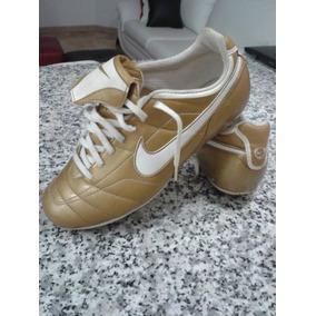 aaa94b3a014 Zapatos Futbol Nike Total 90 Dorados Usados 5.5 Usa Ref.35