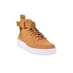 nouveau produit 6d48b 60c30 Nike Air Force One Vinotinto - Zapatos Nike de Hombre Marrón ...