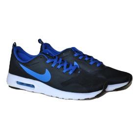 76eb1cc47a552 Kp3 Zapatos Caballeros Nike Air Max Tavas Negro Azul Solo 44. Bs. 136.000