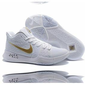 3c6537aef43fa Nike Kyrie Irving 3 Blancas - Zapatos Nike en Mercado Libre Venezuela