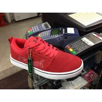 Zapatos Skate Oklesh. Rojo... Vans, Etnies, Supra, Circa,