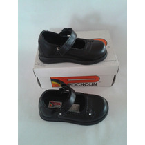 Zapatos Colegiales Negros Para Niñas Marca Pocholin