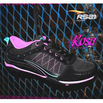 Rs21 Rosa Girl 33844 Negro / Rosado