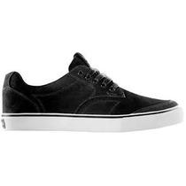 Zapatos Dekline Skate Tim Tim Negro Blanco Todas Las Tallas