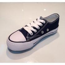 Zapato Azul Casual Para Niños Y Niñas