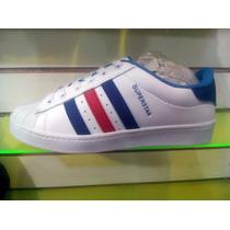 Zapatos Gomas Adidas Super Star Para Caballeros