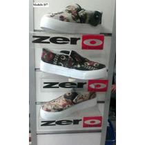 Zapatos Deportivo De Damas Estilo Vans Marca Zero