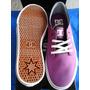 Zapatos Dc Damas Color Purpura Talla Us 7.5 Nuevos