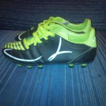 Zapato Taco Futbol Meru Poco Uso