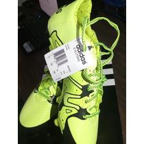 Zapatos Adidas X 15.3 Fútbol Nuevos Originales Talla 42(8.5)