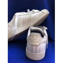 Zapatos Adidas Blancos Deporte Escolar Usados T. 35 Niños.