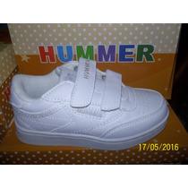 Zapatos Blancos Escolares Hummer