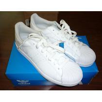 Zapatos Adidas Superstar Blancos, 100% Originales..!!