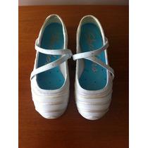 Skechers Originales Blanco Con Beige Para Damas