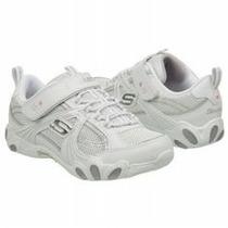 Zapatos Skechers Niña Blancos Deportivos / Colegio