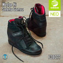 Zapatos Adidas Neo Super Wedge Hi Selena Gomez Originales